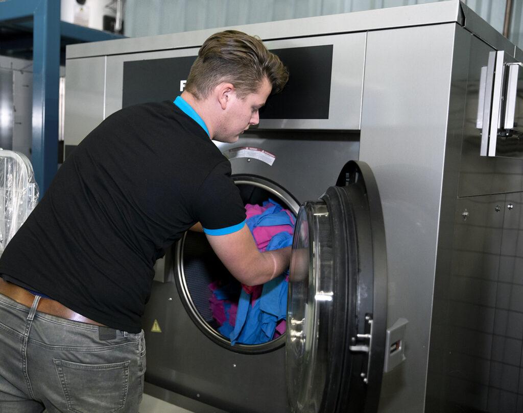 industriële wasserij